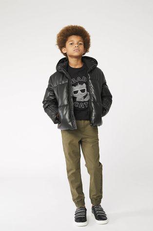 Karl Lagerfeld - Дитяча бавовняна футболка