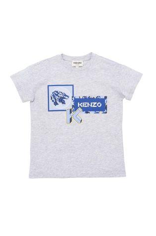 KENZO KIDS - Дитяча бавовняна футболка