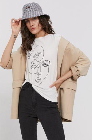 Vero Moda - T-shirt bawełniany