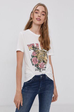 Vila - T-shirt bawełniany