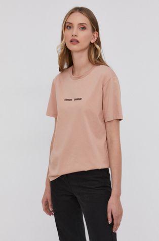 Samsoe Samsoe - T-shirt bawełniany