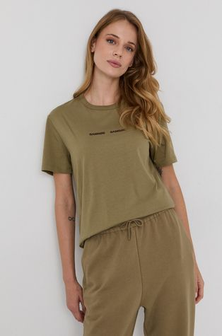 Samsoe Samsoe - Bavlnené tričko