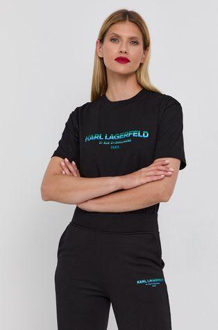Karl Lagerfeld - Bavlnené tričko