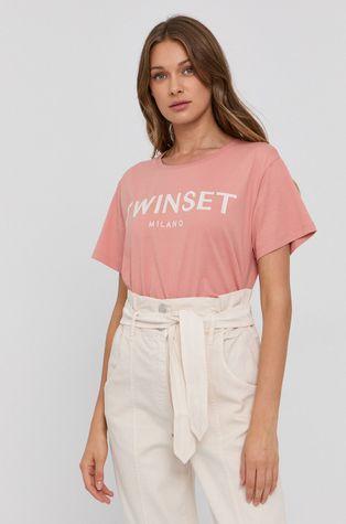Twinset - Хлопковая футболка