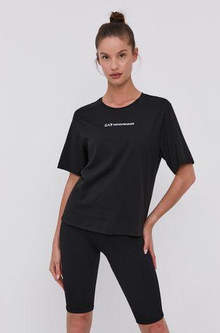 EA7 Emporio Armani - Bavlněné tričko