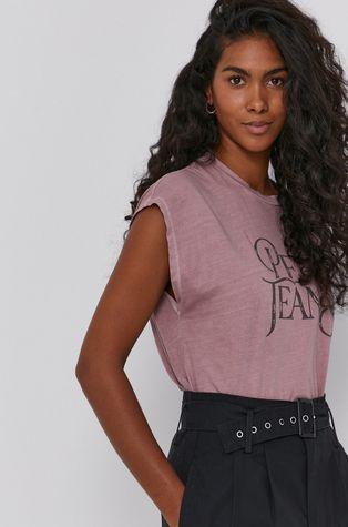 Pepe Jeans - Bavlnené tričko Klose