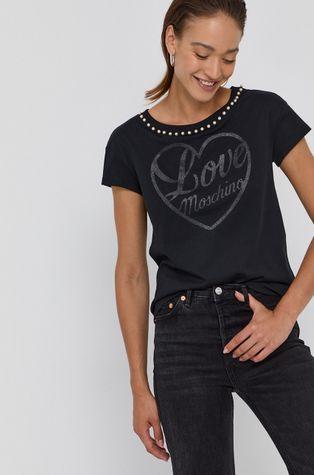 Love Moschino - T-shirt bawełniany