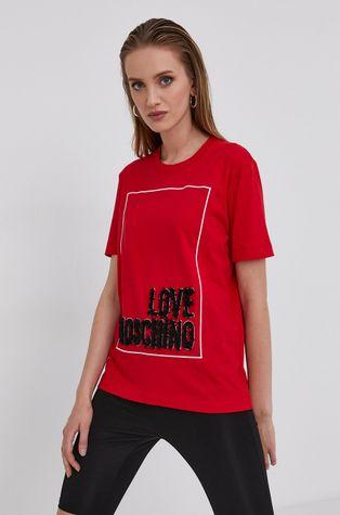 Love Moschino - Bavlnené tričko