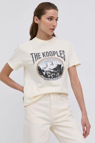 The Kooples - Tricou din bumbac