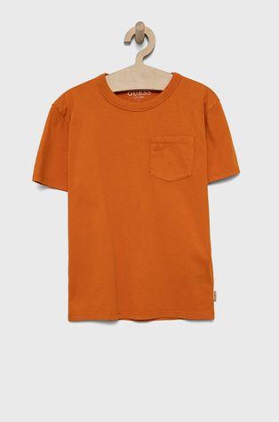 Guess - Детская хлопковая футболка