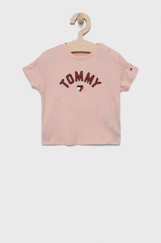 Tommy Hilfiger - Detské bavlnené tričko