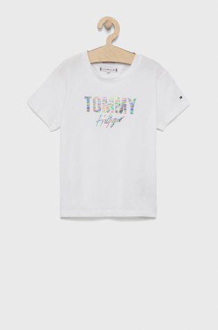 Tommy Hilfiger - Дитяча бавовняна футболка