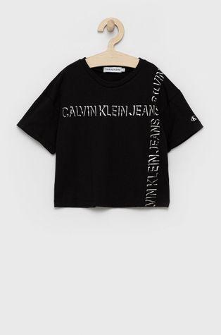 Calvin Klein Jeans - T-shirt bawełniany dziecięcy