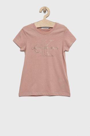 Calvin Klein Jeans - Dětské bavlněné tričko