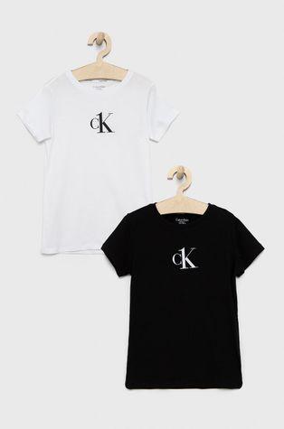 Calvin Klein Underwear - T-shirt bawełniany dziecięcy (2-pack)