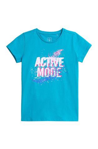 4F - T-shirt bawełniany dziecięcy
