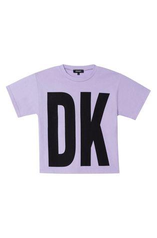 Dkny - Detské bavlnené tričko