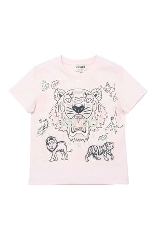 KENZO KIDS - Tricou de bumbac pentru copii