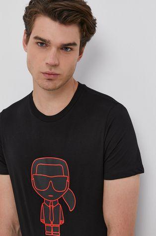 Karl Lagerfeld - T-shirt bawełniany
