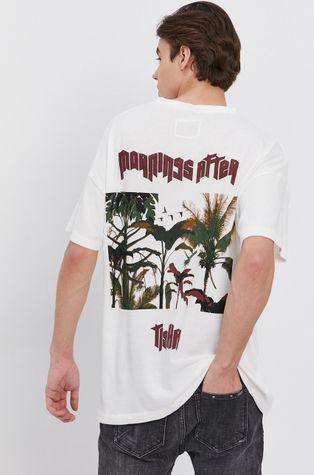 Tigha - T-shirt bawełniany Mornings After Arne