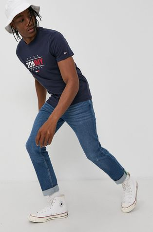 Tommy Jeans - Βαμβακερό μπλουζάκι