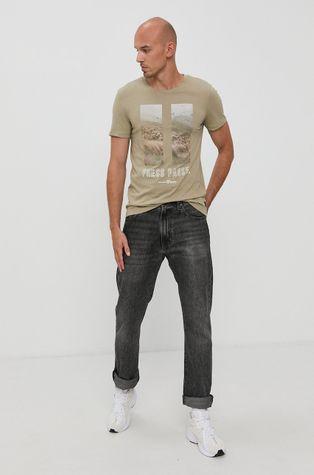 Tom Tailor - Tricou din bumbac