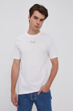 Hugo - T-shirt bawełniany