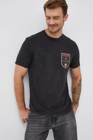 Guess - Хлопковая футболка