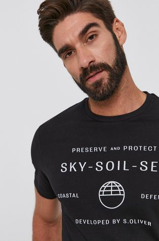 s. Oliver - T-shirt bawełniany