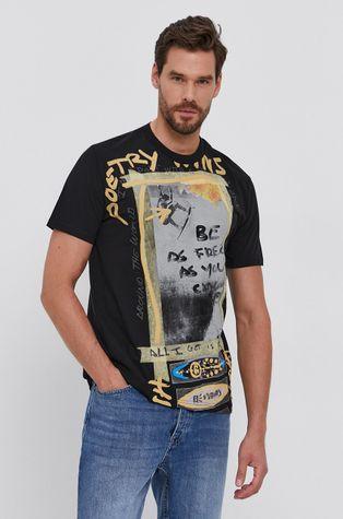 Desigual - T-shirt bawełniany