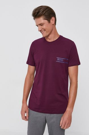 Boss - Βαμβακερό μπλουζάκι