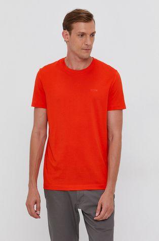 Boss - Bavlněné tričko