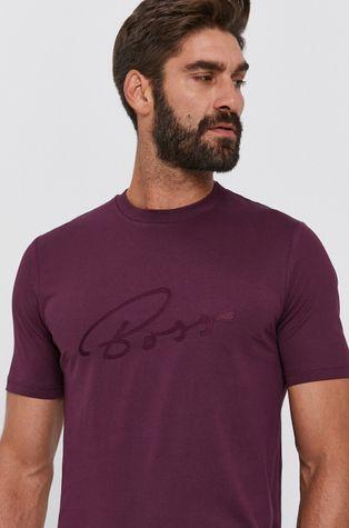 Boss - T-shirt bawełniany