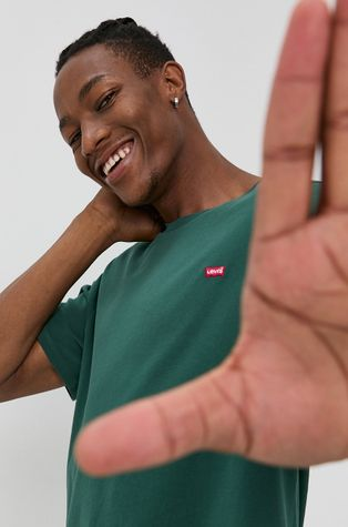 Levi's - Βαμβακερό μπλουζάκι