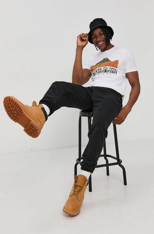 Napapijri - T-shirt bawełniany