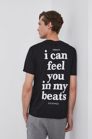 Armani Exchange - Хлопковая футболка