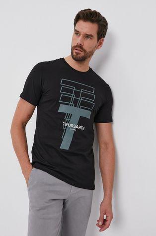 Trussardi - Bavlnené tričko