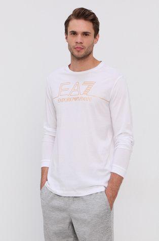 EA7 Emporio Armani - Bavlněné tričko s dlouhým rukávem