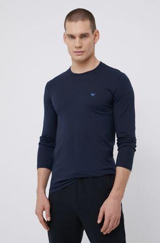 Emporio Armani Underwear - Longsleeve piżamowy bawełniany