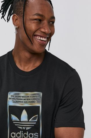 adidas Originals - Βαμβακερό μπλουζάκι