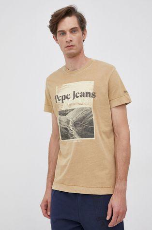 Pepe Jeans - T-shirt bawełniany Yann