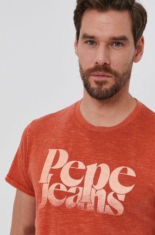 Pepe Jeans - T-shirt bawełniany Yuri