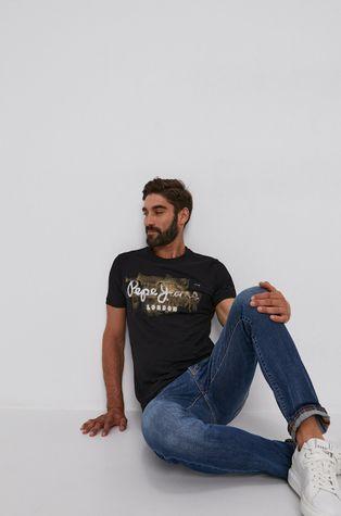 Pepe Jeans - T-shirt bawełniany Golders