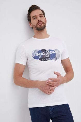 Pepe Jeans - T-shirt bawełniany Sacha