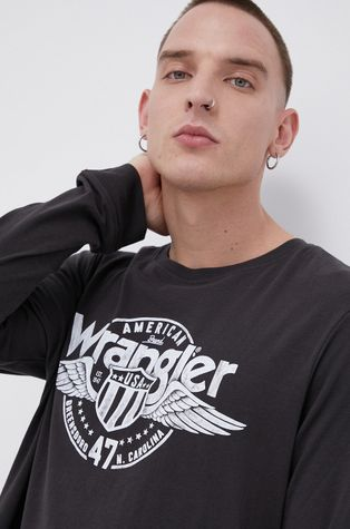 Wrangler - Longsleeve bawełniany