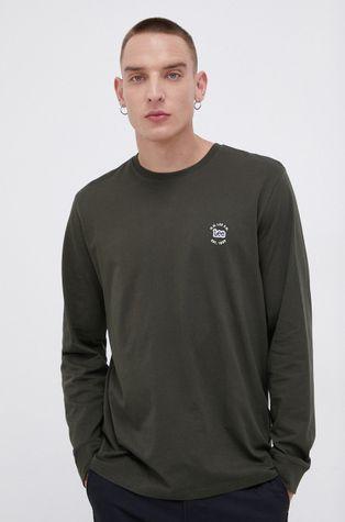 Lee - Bavlněné tričko s dlouhým rukávem