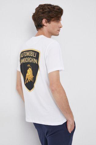 LAMBORGHINI - Βαμβακερό μπλουζάκι