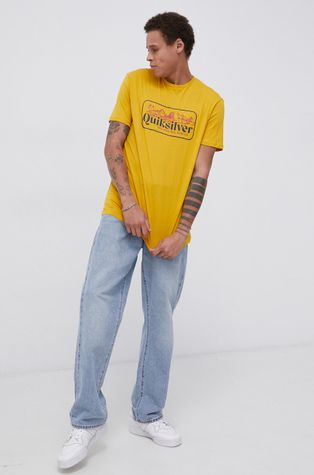 Quiksilver - Хлопковая футболка
