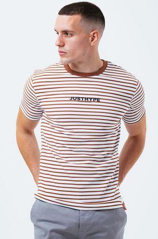 Hype - Bavlněné tričko STRIPE