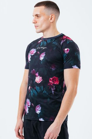 Hype - T-shirt ROSE CASTLE
